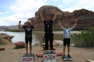 Kyle at the Xtreme Adventure Race in Moab, Utah.