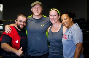 CrossFit Power Athlete Competition
